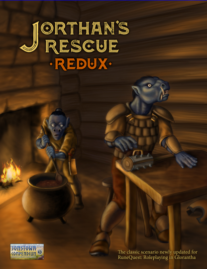 Cover for Jorthan's Rescue Redux