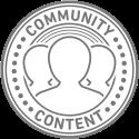 Community Content Badge