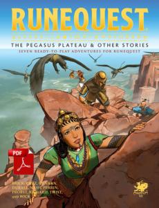 Cover for Pegasus Plateau
