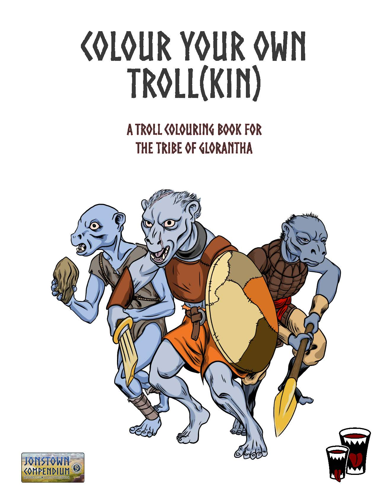 Cover of Colour Your Own Troll(kin)