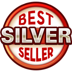 Silver Best Seller Badge