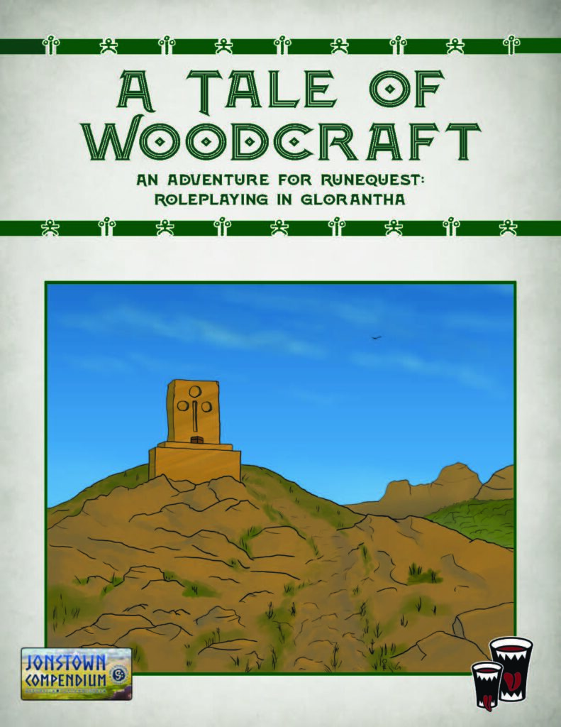 Cover for Tale of Woodcraft