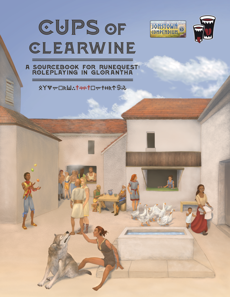 Cover of The Cups of Clearwine